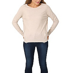 Izabel London - Beige long sleeve pullover