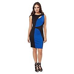 Jane Norman - Blue colour block dress