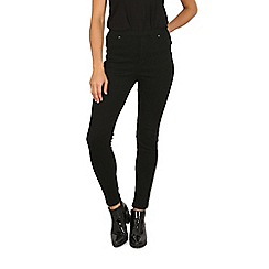 Izabel London - Black fitted casual pants