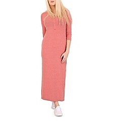 Indulgence - Pink lounge maxi dress