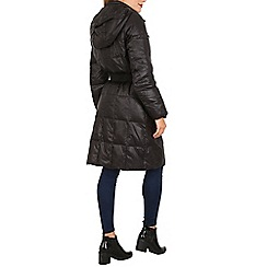 David Barry - Black feather and down padded coat