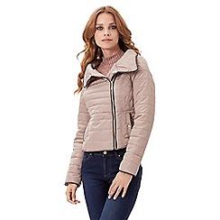 Jane Norman - Natural short puffa coat
