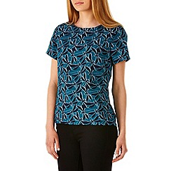 Sugarhill Boutique - Turquoise brittany dragonfly top