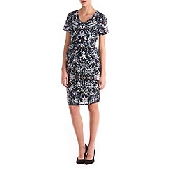 Sugarhill Boutique - Multi Coloured Gayna Blurred Spot Shift Dress