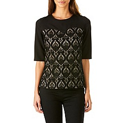 Sugarhill Boutique - Black annora lace top