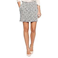 Bellfield - Multicoloured diamond sweat skirt