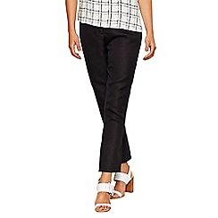 Bellfield - Black jacquard trousers