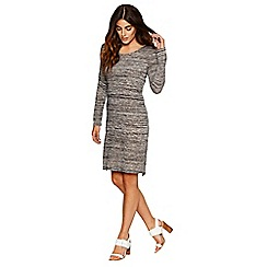 Bellfield - Grey knit jersey shift dress