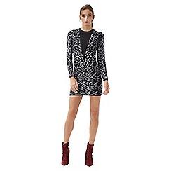 Jane Norman - Grey animal jacquard jumper dress