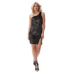 Jane Norman - Silver one shoulder dress