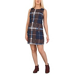 Izabel London - Brown checked shift dress