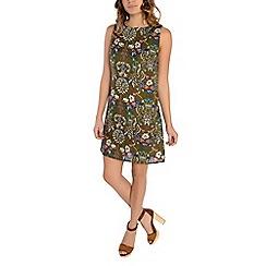 Alice & You - Khaki floral print shift dress