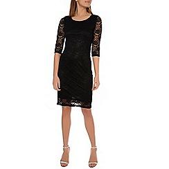 Alice & You - Black lace layer midi dress