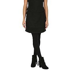 Cutie - Black thick box skirt