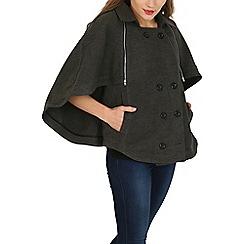 Cutie - Grey cape jacket