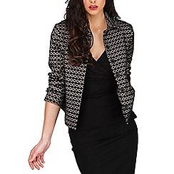 Jane Norman - Multicoloured bonded lace jacket