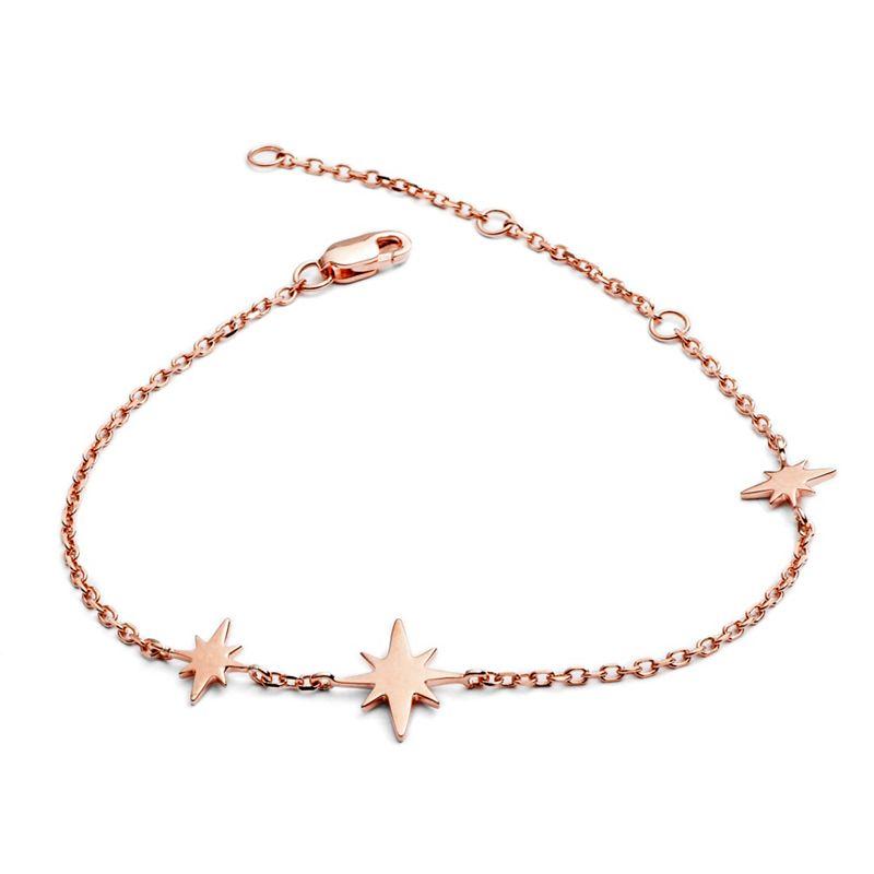 Chavin Gold three star bracelet