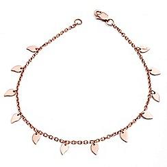 Chavin - Rose rose gold small leaf bracelet