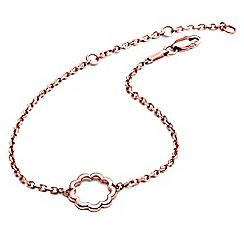 Chavin - Rose Gold Paisley Flower Bracelet