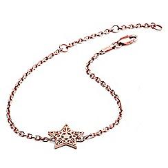 Chavin - Rose Gold Filigree Star Bracelet