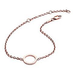 Chavin - Rose rose gold  circular bracelet