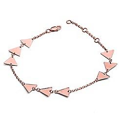 Chavin - Rose Gold Triple Triangle Bracelet