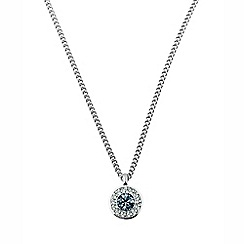 Dyrberg Kern - Blue sanaas crystal necklace