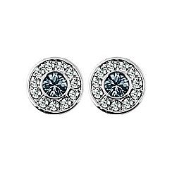 Dyrberg Kern - Grey catalina stud earrings
