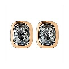 Dyrberg Kern - Rose tron fancy cut earrings