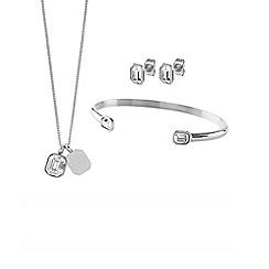Dyrberg Kern - Silver princess jewellery set