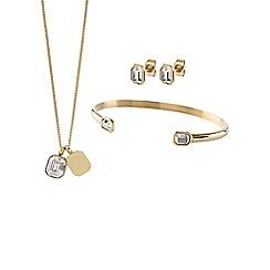Dyrberg Kern - Gold princess jewellery set