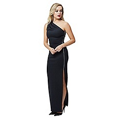 Jane Norman - Black maxi one shoulder dress