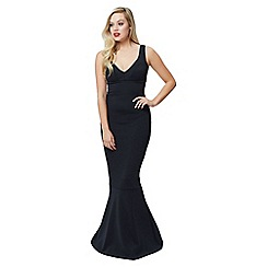 Jane Norman - Black fishtail maxi dress