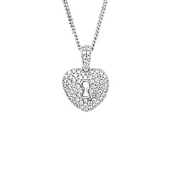 Amore Argento - Silver key to my heart necklace