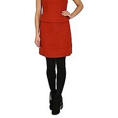 Cutie - Orange thick box skirt