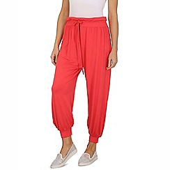 Indulgence - Red one size joggers