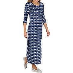Indulgence - Blue lounge maxi dress