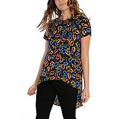 Alice & You - Orange split back dip hem blouse