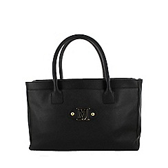 Marta Jonsson - Black handbag with mj detail