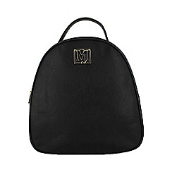 Marta Jonsson - Black backpack with mj detail