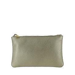 Marta Jonsson - Gold leather wallet