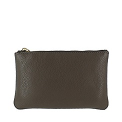Marta Jonsson - Grey leather wallet