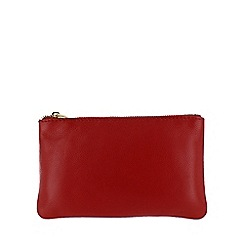 Marta Jonsson - Red leather wallet