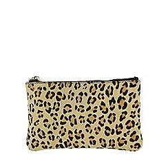Marta Jonsson - Brown leopard print wallett