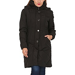David Barry - Black ladies padded coat