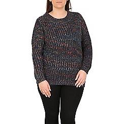 Samya - Navy knitted pullover
