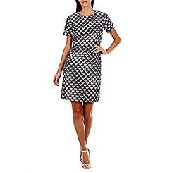 Sugarhill Boutique - Grey betsy hearts jacquard dress