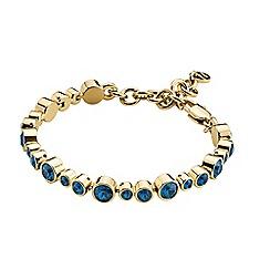 Dyrberg Kern - Gold tereisa sg dark blue