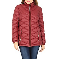 David Barry - Red light hooded jacket