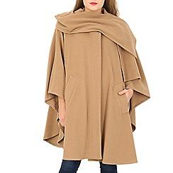 David Barry - Camel cashmere cape